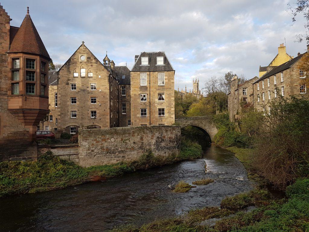 Dean Village ad Edimburgo